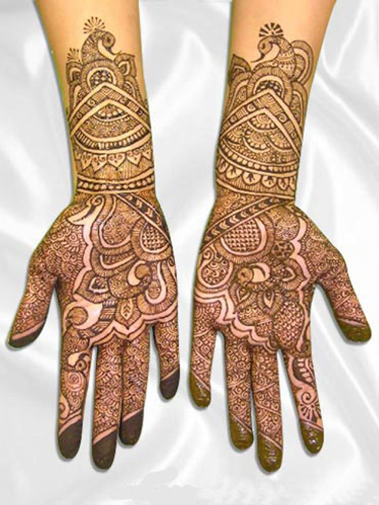 Mehndi Patterns For Brides : Latest mehendi designs