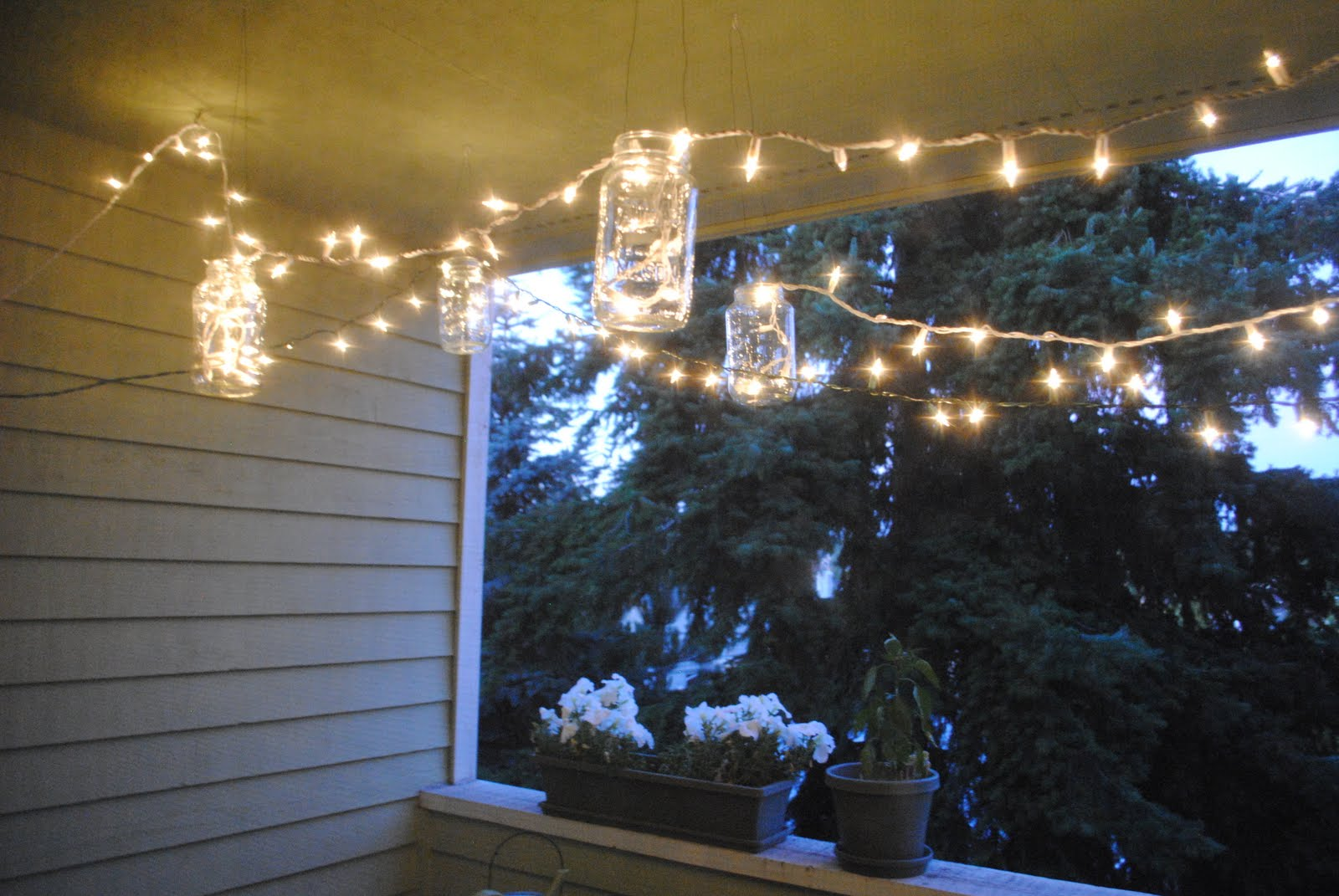 Our Emerald City: Deck Lighting: Lanterns & String Lights