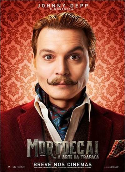 Download Mortdecai A Arte da Trapaça AVI + RMVB Dublado Torrent