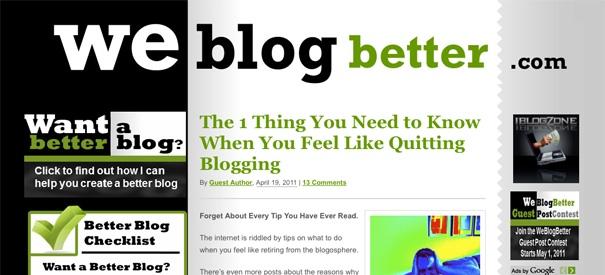 WeBlogBetter preview