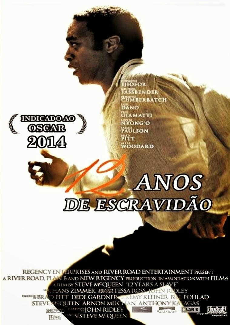 """Poster do filme """"12 Anos de Escravidão"""""""
