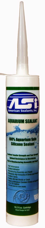 Aquarium Silicone; Tank Repair, Applications; Agricultre Canada, USDA ...
