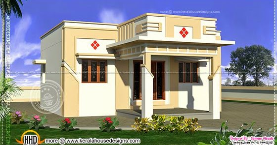 Small South Indian Home Design Keralahousedesigns