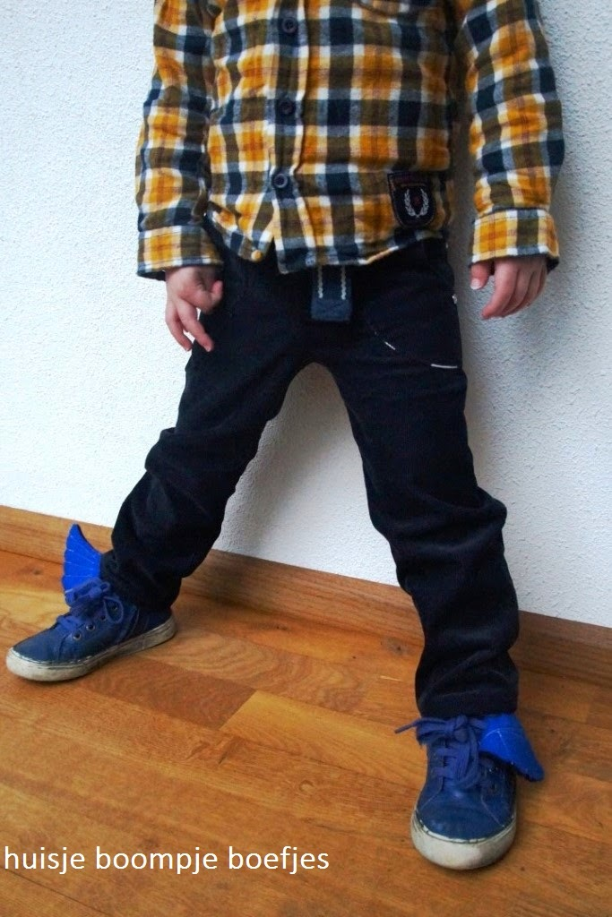small fry skinny jeans free 2T, upcycled - huisje boompje boefjes