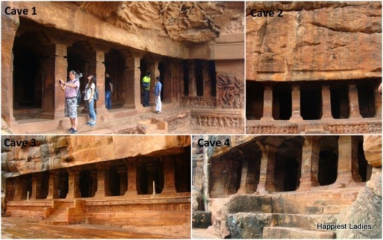 Badami Rock Cut Cave Temples