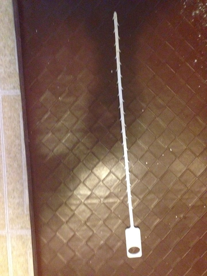 Zip strip drain cleaners