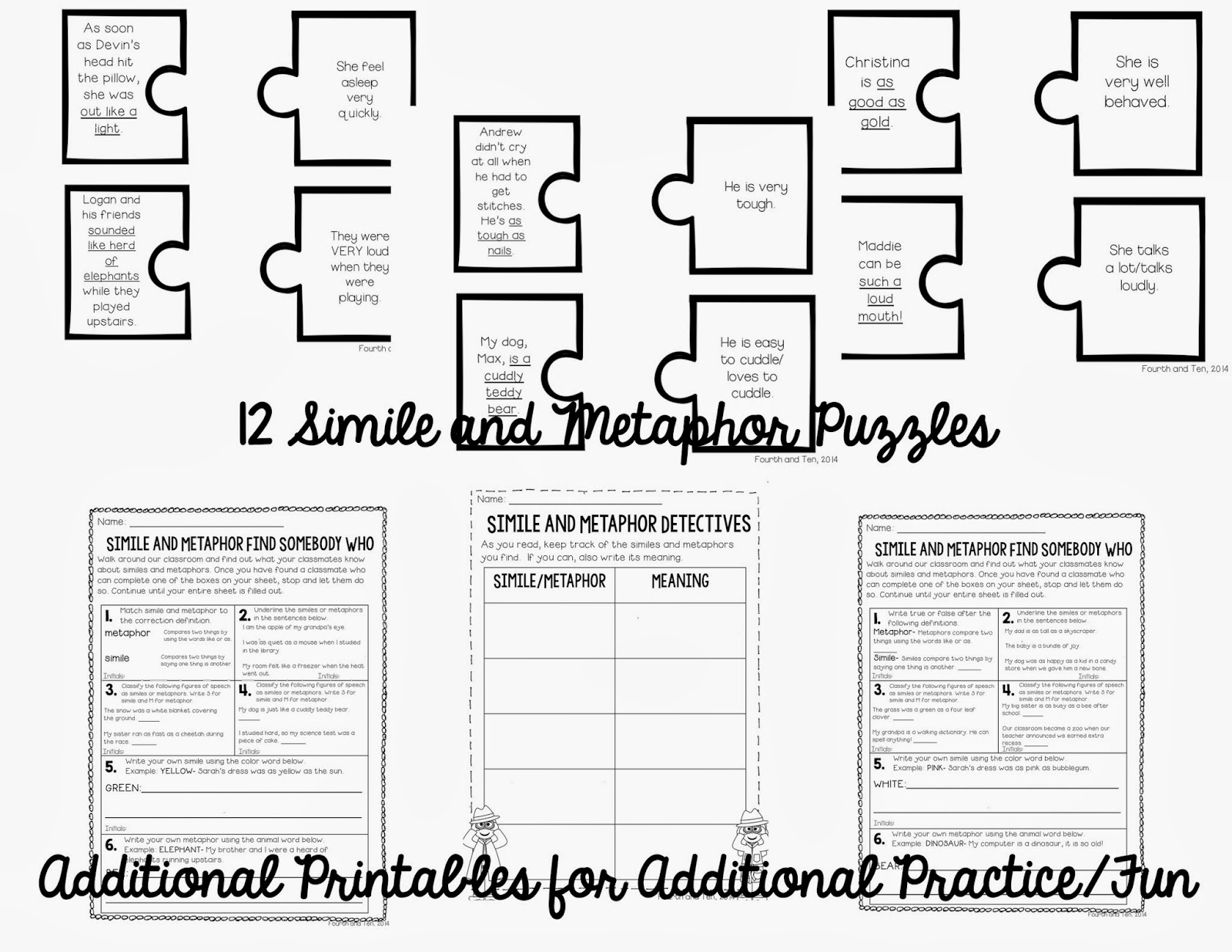 1000  ideas about Similes And Metaphors on Pinterest | Simile ...