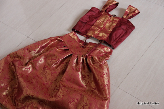 pattu langa designs for girls