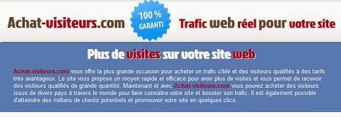 http://www.achat-visiteurs.com/