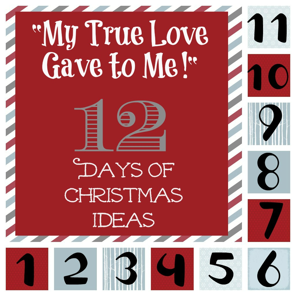 my true love gave to me 12 days of christmas ideas six sisters stuff