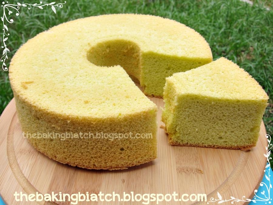The Baking Biatch || by Cynthia Lim: Fluffy Pandan Chiffon ...