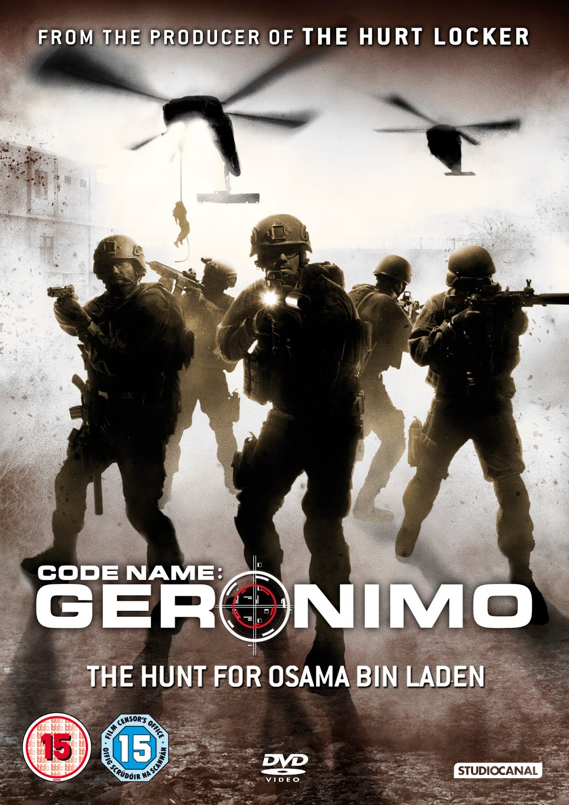 Code Name Geronimo affiche