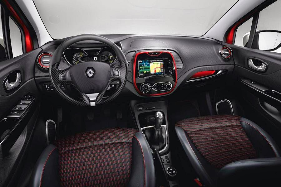 Renault Captur Signature (2014) Dashboard
