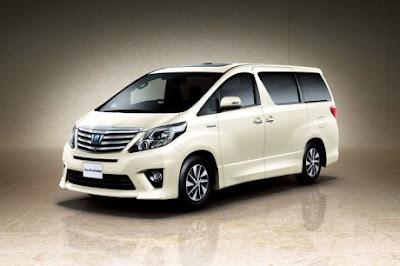 Toyota New Alphard Terbaru