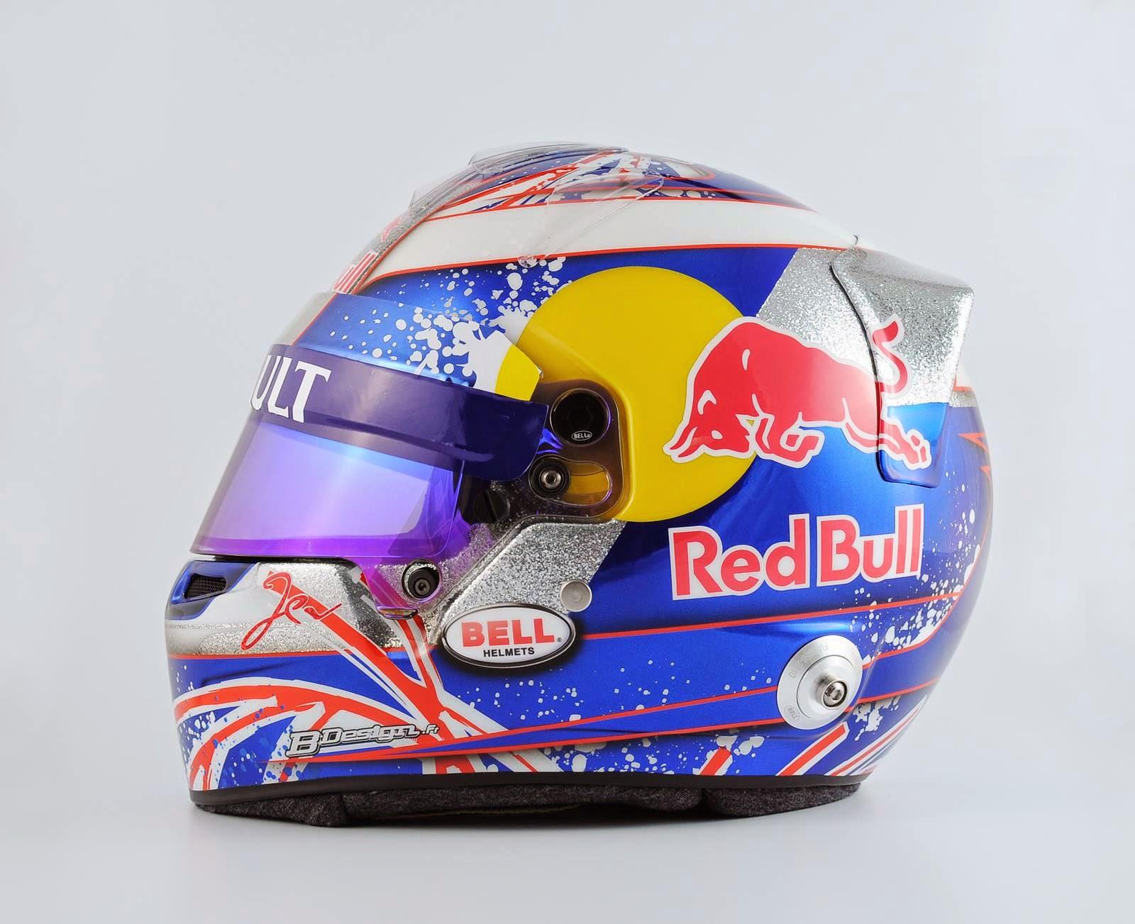 Racing Helmets Garage: Bell HP7 J.E.Vergne Silverstone ...