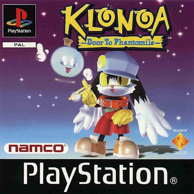 klonoa door to phantomile playstation copertina