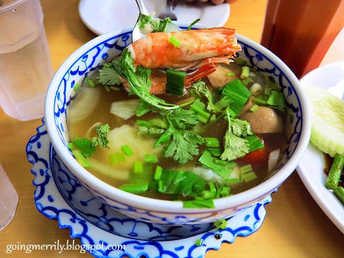 Tom Yam Nahkon Seafood