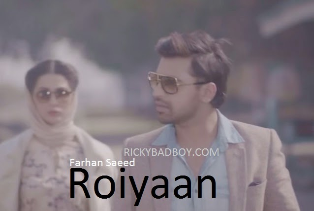 FARHAN SAEED - ROIYAAN LYRICS (Royi Aan)