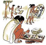 Educación de los niños aztecas