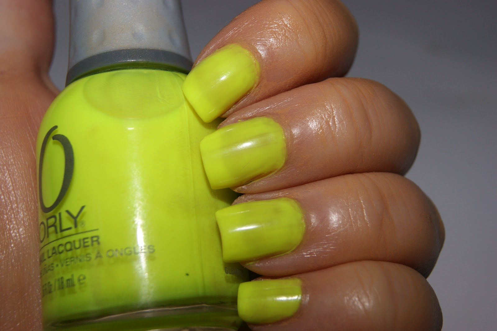 Orly Nail Lacquer in Glowstick - Review | The Sunday Girl