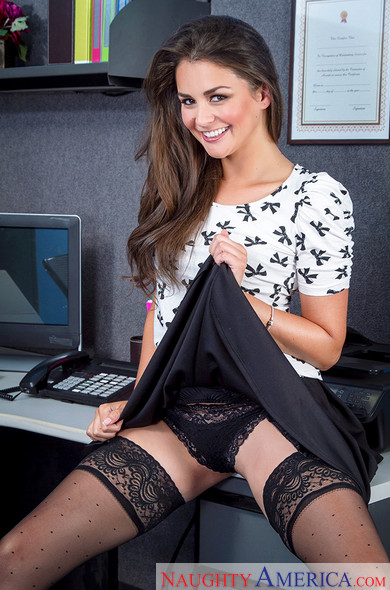 Allie Haze - Naughty Office (Naughty America)