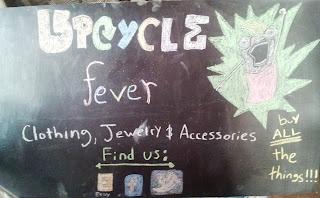 Craft Show Chalkboard meme sign on UpcycleFever