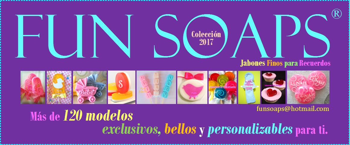 JABONES FUN SOAPS® - JABONES DE GLICERINA FINOS PARA RECUERDOS DE CELEBRACIONES