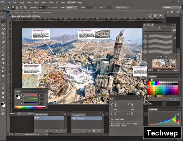 Adobe Photoshop CC 14.2.1 PreActivated Highly Compressed | Techwap