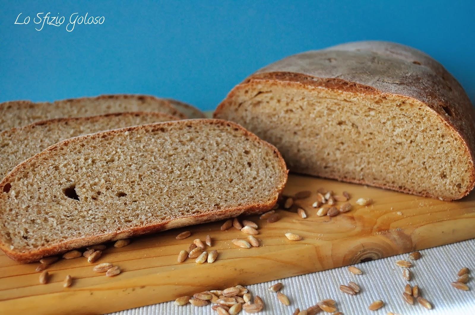 pane alla farina di farro integrale