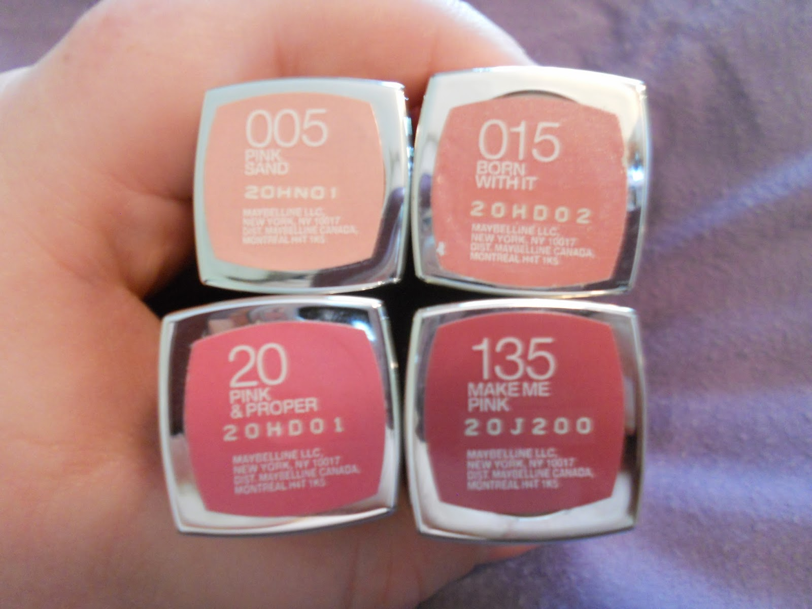 Makeup Is Rad!: Maybelline Color Sensational Lipstick ...