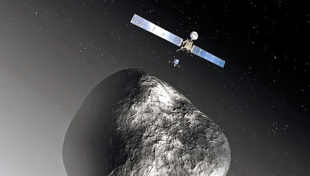 5 fatos surpreendentes sobre a sonda Rosetta