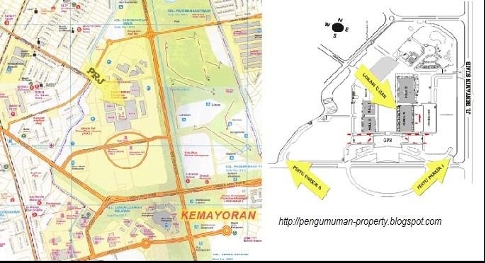 peta lokasi ujian cpns kemenlu 2012