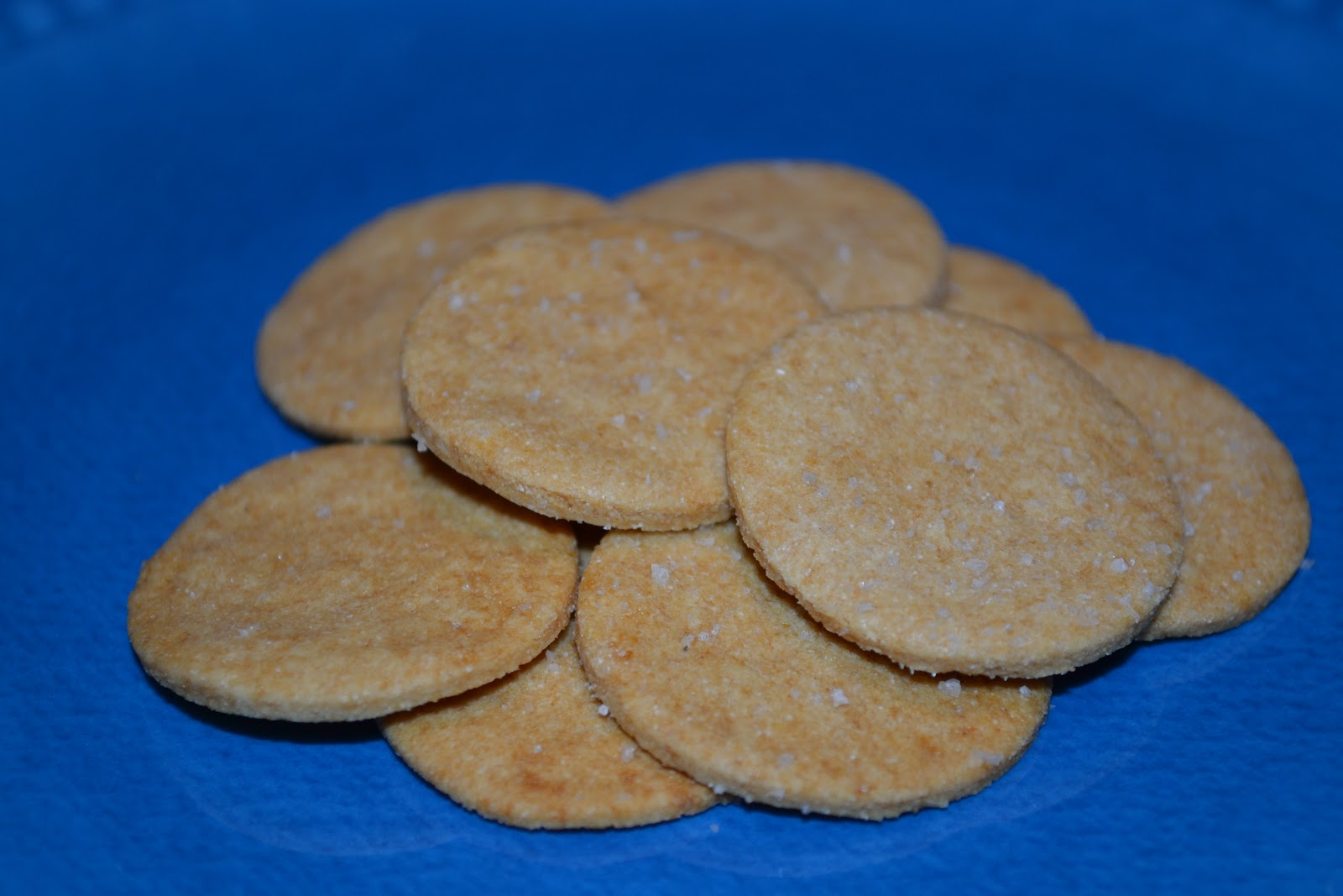 Gluten Free Crackers (dairy free, nut free, egg free)