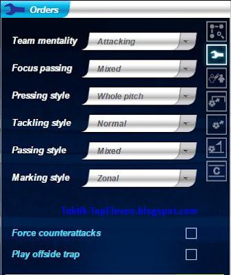 Strategi Ampuh Jitu 3-5-2 V Style Top Eleven