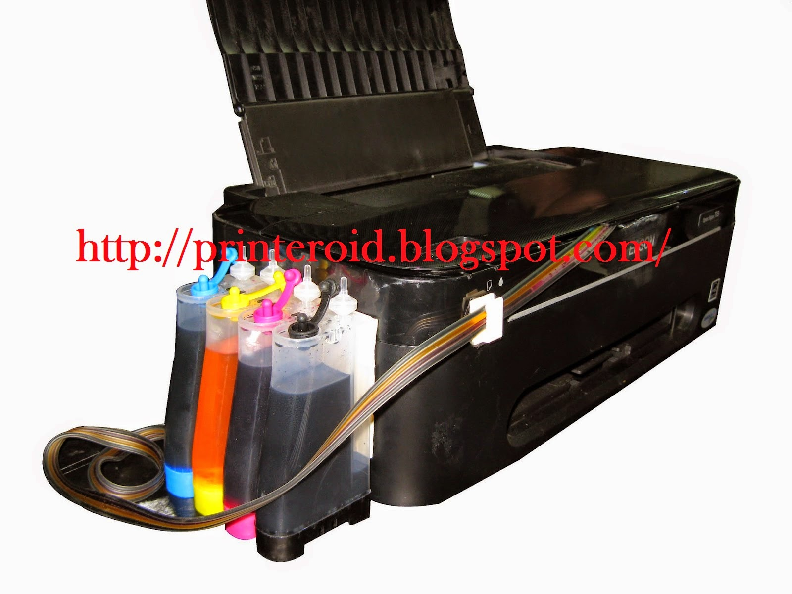 how to clean nozzle on epson printer t13