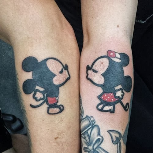 Tatuagem para casal fofo