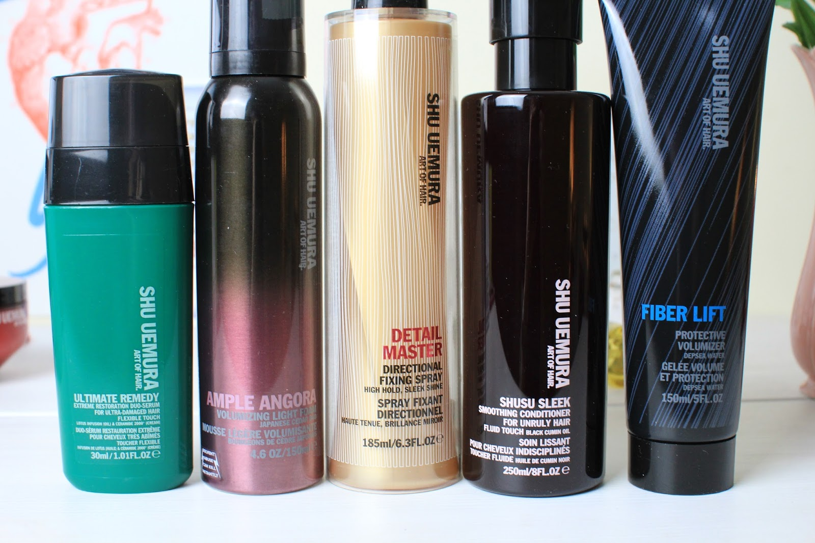 Shu Uemura Art of Hair Collection Favourites