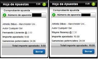 Apuestas Rosberg Athletic Bilbao-Manchester United Fútbol– Europa League Titanbet