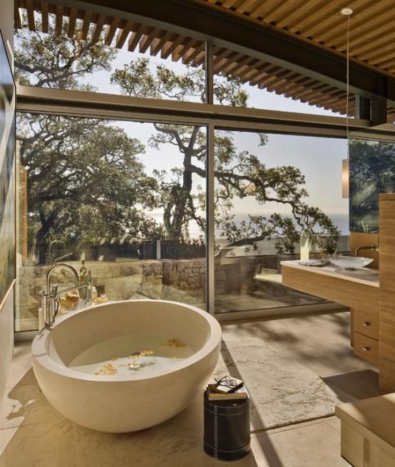 Diseno De Baños Lujosos:Diseños de baños lujosos con hermosas tinas