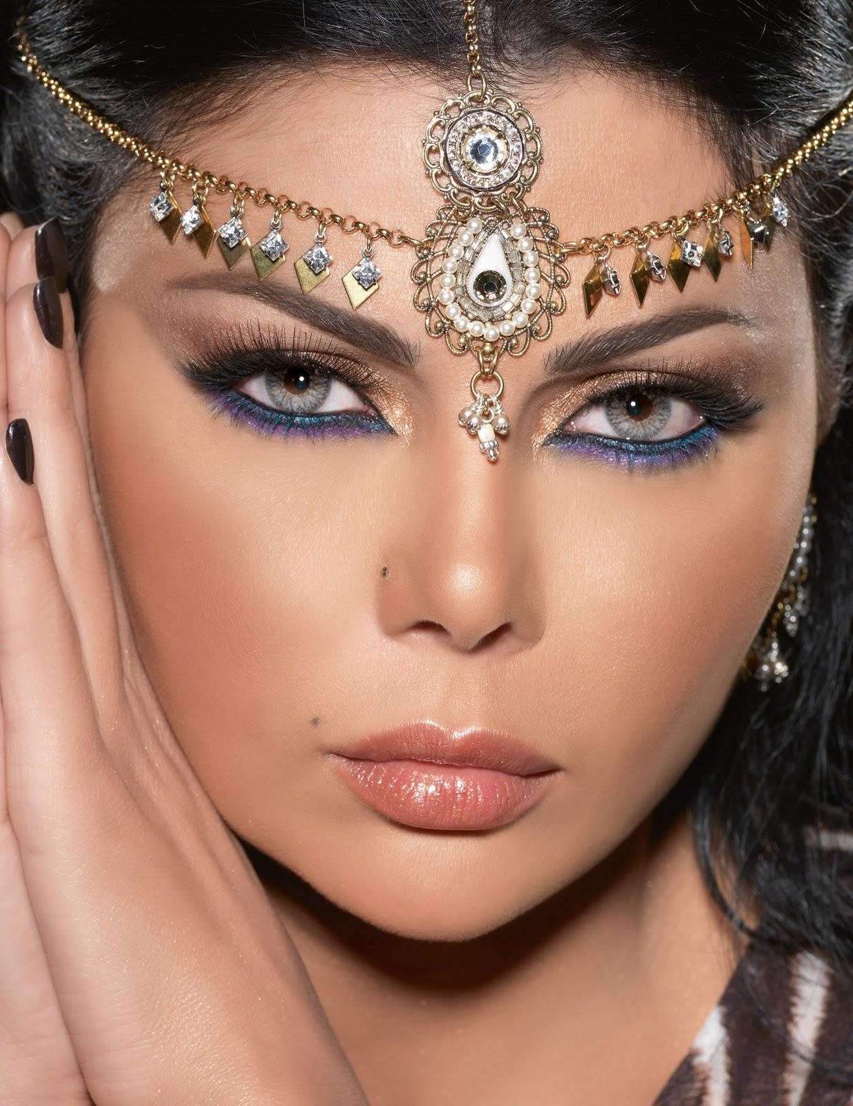 Wedding Makeup Tutorial Pixiwoo : Haifa Wehbe inspiration Pixiwoo.com