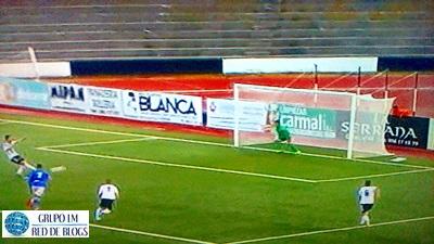 Gol de penalti de Espinar
