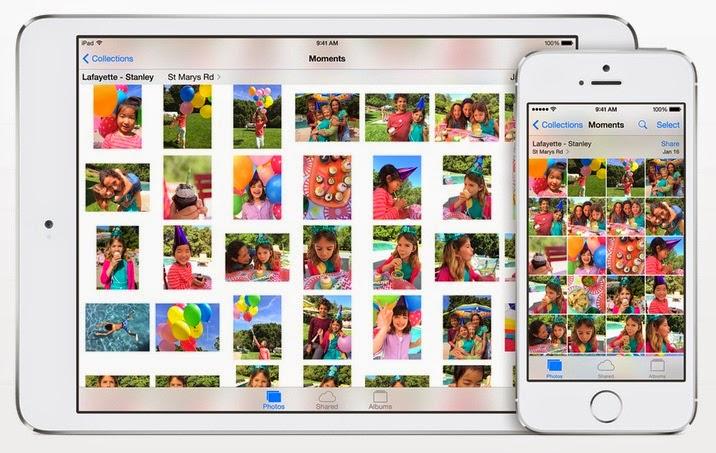 Apple iOS 8 - Photo App