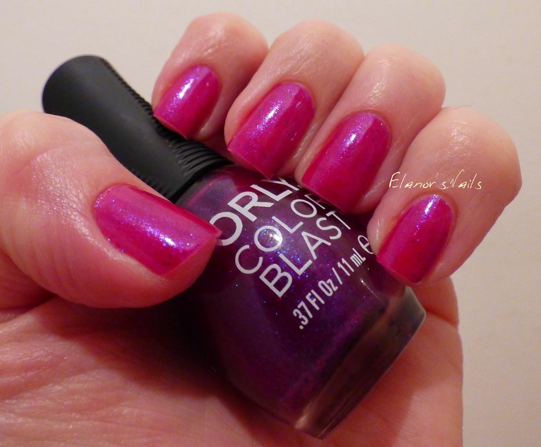 Elanor\'s Nails: Orly Color Blast - Royal Purple Color Flip