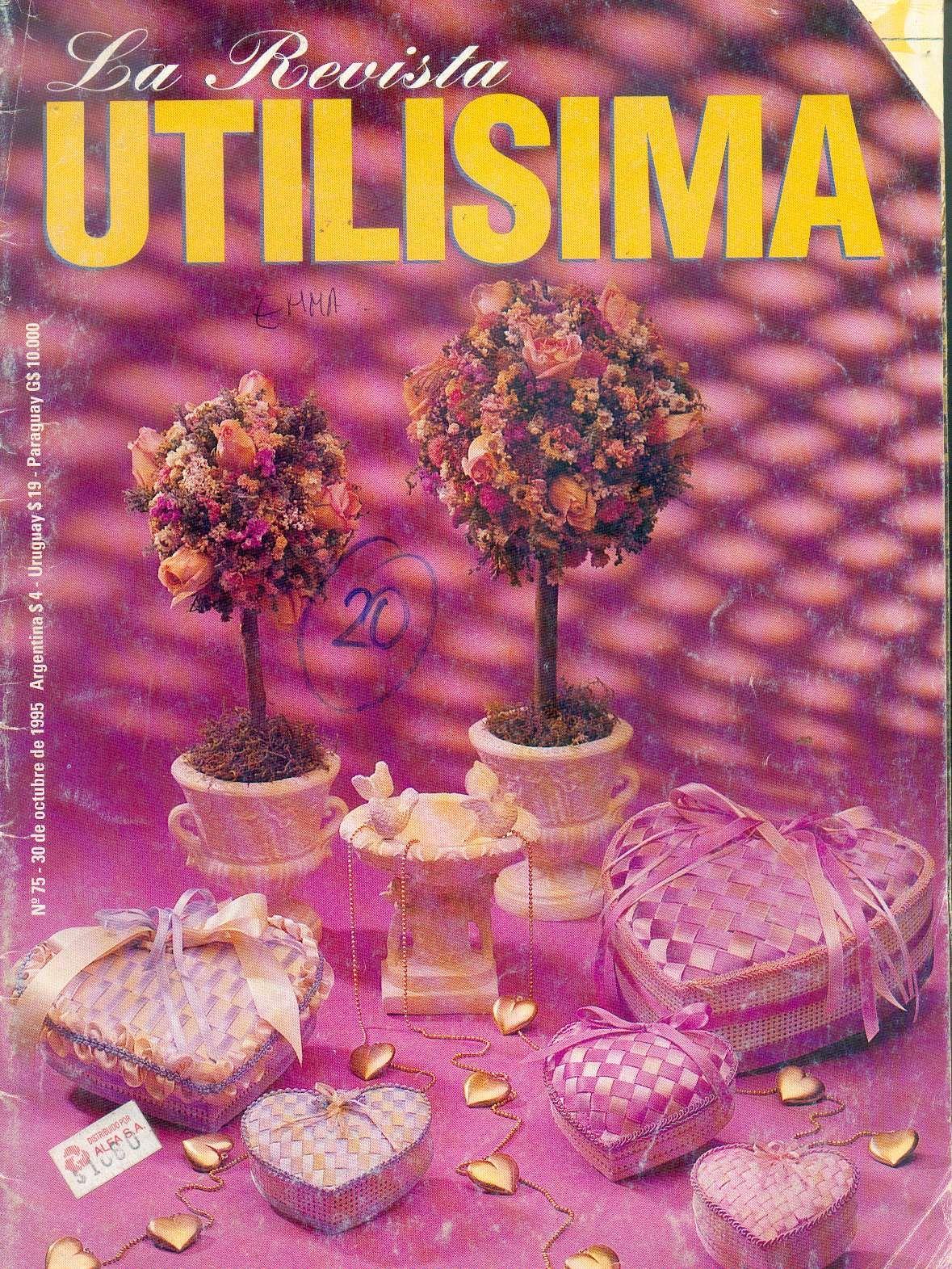 Revistas de manualidades gratis utilisima n 75 for Utilisima decoracion de interiores