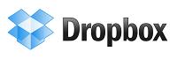 Logo serwisu Dropbox