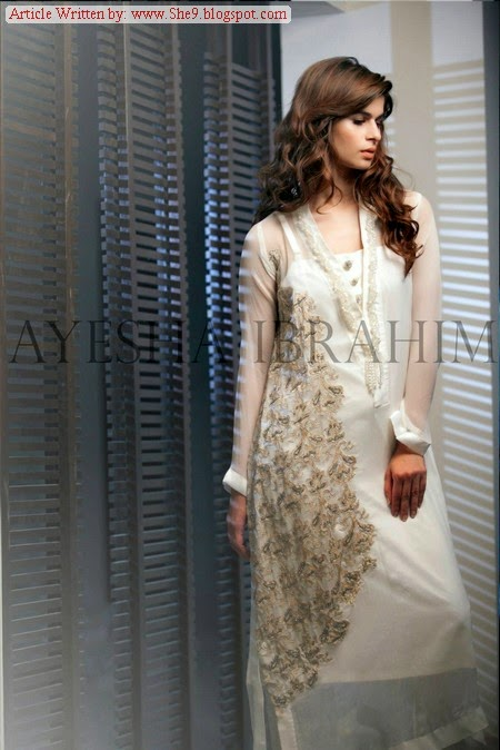 Ayesha Ibrahim Collection 2014