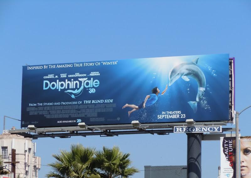 Dolphin Tale billboard