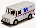 Why band name Postal Service - USPS-Truck