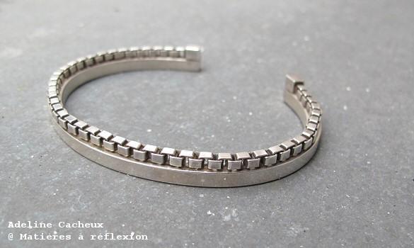 Adeline Cacheux bracelet homme Basic Space
