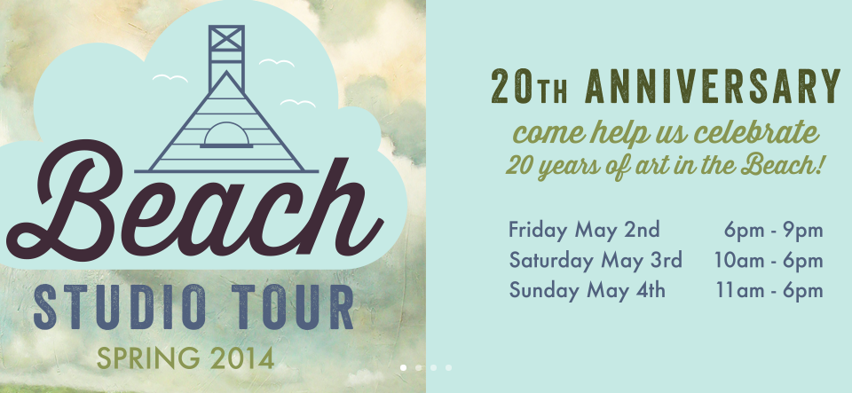 Beach Studio Tour - May 2, 3 & 4